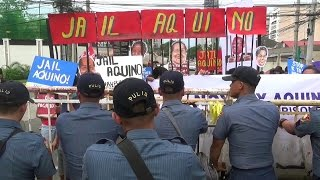 Leftist groups want to put Aquino in jail
