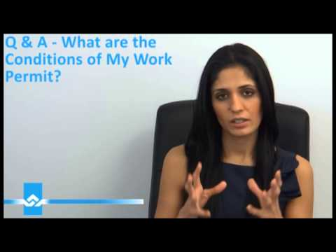 Canada Work Permit Conditions Video