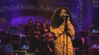 Video SZA - Love Galore (Mic Feed/Isolated Vocals Only) at Saturday Night Live (SNL) MP3, 3GP, MP4, WEBM, AVI, FLV Maret 2018