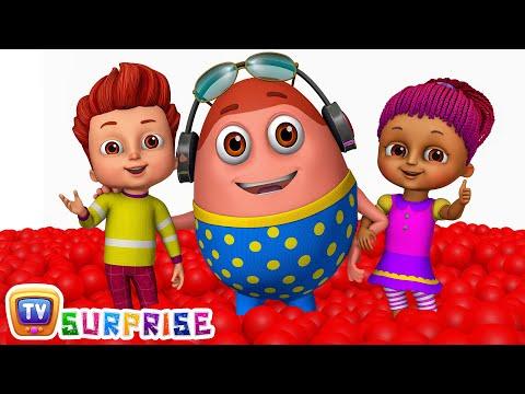 Preschool Songs Kids play in HUGE Gumball