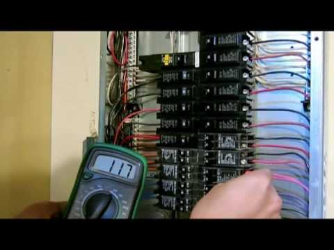 How to repair replace broken circuit breaker