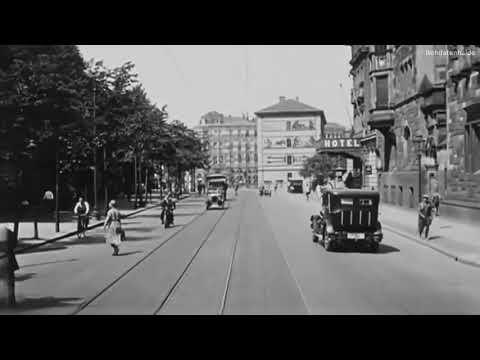 1931: Straßenbahnfahrt durch Leipzig (mit Ton)