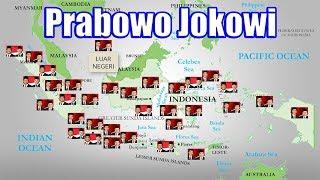 Video Perolehan Suara Jokowi Prabowo Pilpres 2014 di 33 Provinsi dan Luar Negeri MP3, 3GP, MP4, WEBM, AVI, FLV Maret 2019