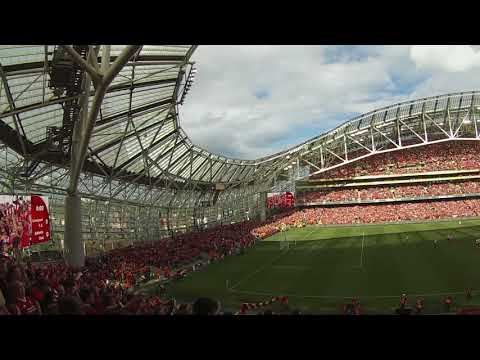 You'll Never Walk Alone In Dublin, Ireland || LIVERPOOL FC  *LOUD*