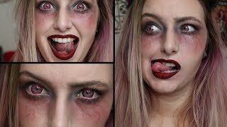 Nonton  Pretty Demonic  Makeup Tutorial       31 Days Of Vlogoween     Film Subtitle Indonesia Streaming Movie Download