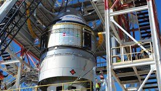 Pad Abort Test of Boeing's Starliner Spacecraft by NASA