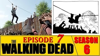 """The Walking Dead Season 6 Episode 7 Review """"Heads Up"""" Ep. 607"""