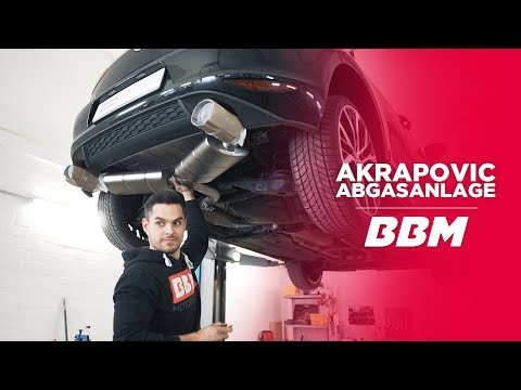 """Seeehr leicht!""   Akrapovic Abgasanlage Golf 7 GTI by BBM"