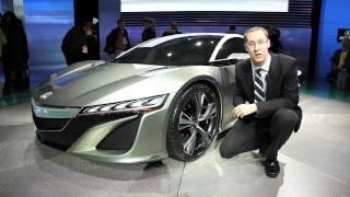 Acura NSX Concept - 2012 Detroit Auto Show