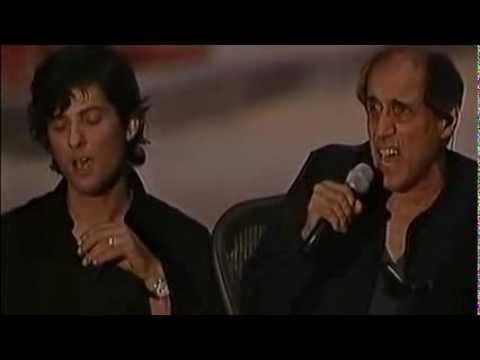 Adriano Celentano & Fiorello - L'emozione non ha voce (LIVE 2001) (видео)