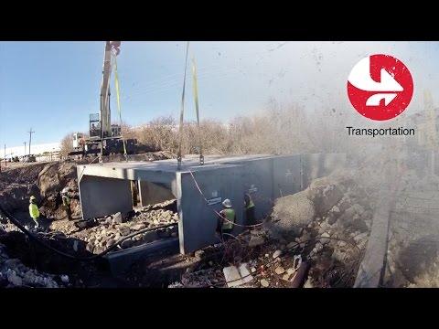 Precast Bridge Replacement & Undercrossings-The 3 (Three) Sided Bridge Video Thumbnail