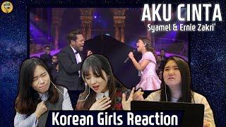 Video Korean Girls React to 'Aku Cinta' |Syamel & Ernie Zakri|Blimey MP3, 3GP, MP4, WEBM, AVI, FLV April 2019