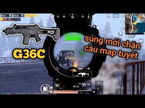 PUBG Mobile - Trải Nghiệm Súng Mới G36C Độc Quyền Map Tuyết | Liệu Dòng AR Này Soán Ngôi Vương M416? - Thời lượng: 12:43.