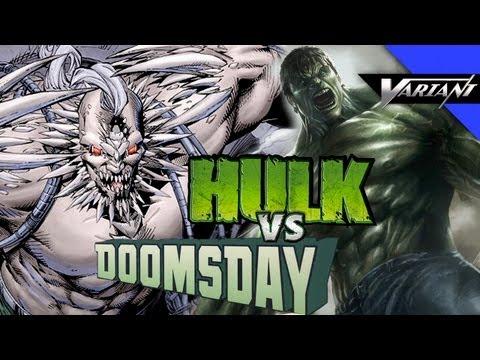 Hulk VS Doomsday: Epic Battle!