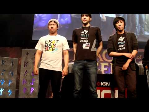 IPL4 - IPL4 League of Legends CLG vs TSM Finals introduction.