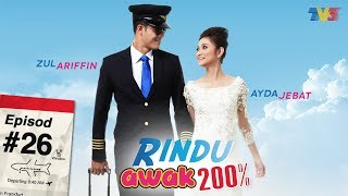 Video Rindu Awak 200% | Episod 26 MP3, 3GP, MP4, WEBM, AVI, FLV Juni 2018