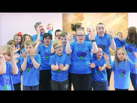Watch video Chichester Down Syndrome Support Group Dance Crew