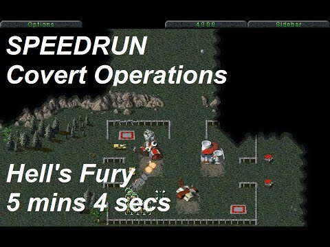 SPEEDRUN: C&C Covert Operations (Tiberian Dawn) - Hell's Fury