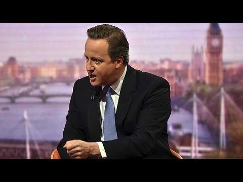 Ντέιβιντ Κάμερον: «Η Βρετανία δεν εγκαταλείπει. Μένει και αγωνίζεται»