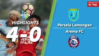 Download Video Persela Lamongan vs Arema FC: 4-0 All Goals & Highlights MP3 3GP MP4