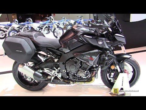 2018 Yamaha MT10 Tourer Ediition - Walkaround - 2017 EICMA Milan Motorcycle Exhibition (видео)