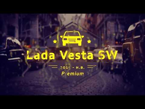 """Чехлы на Lada Vesta, серии """"Premium"""" - серая строчка"""