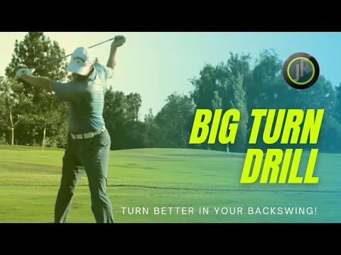 Improve Your Golf Backswing – Big Turn Drill