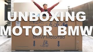 Video UNBOXING MOTOR BMW MP3, 3GP, MP4, WEBM, AVI, FLV Juni 2018