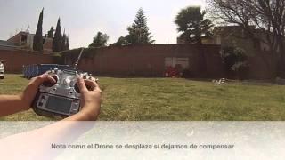 Video demostración de vuelo, primeros pasos