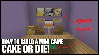 How To Build Cake or Die In Minecraft! (Russian Roulette With Cake)