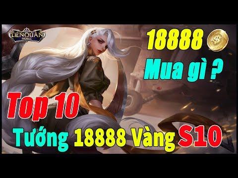 Liên quân mobile Top 10 Tướng 18888 Vàng Mạnh Rank Đơn Mùa 10 Phiên bản Trang Phục 4.0 Beta 20 TNG - Thời lượng: 13:01.