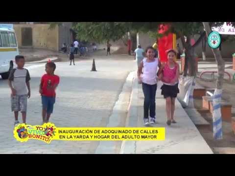 Vivir Bonito Inauguracion adoquinado la Yarda y calle del Hogar del adulto mayor, OCOTAL N.S