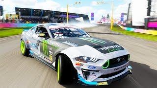 NEW FORMULA DRIFT RTR MUSTANG IS AMAZING | Forza Horizon 4