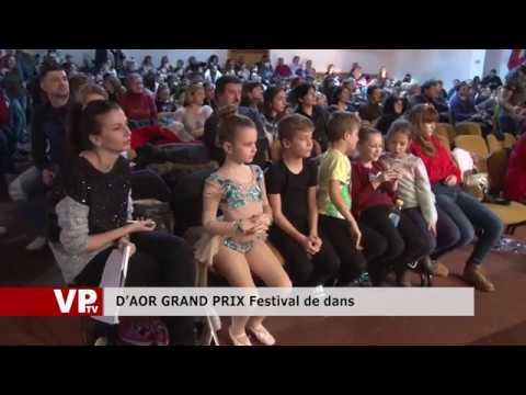 D'AOR GRAND PRIX Festival de dans