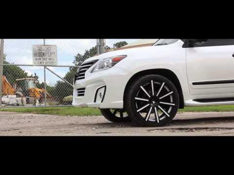 MC Customs | Lexus LX 570 • AG Wheels