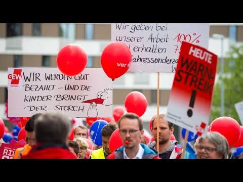 Tarifverhandlungen: Hoffen auf den Durchbruch