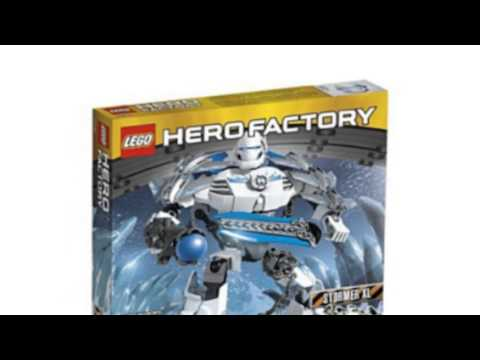 Video Video advertisement on the Hero Factory 6230 Stormer Xl