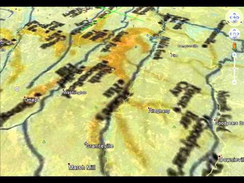 Ancient River Beds of California