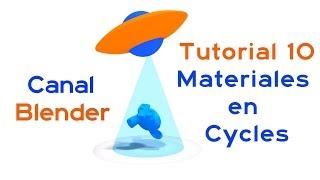 Curso Blender - 10 – Materiales en Cycles