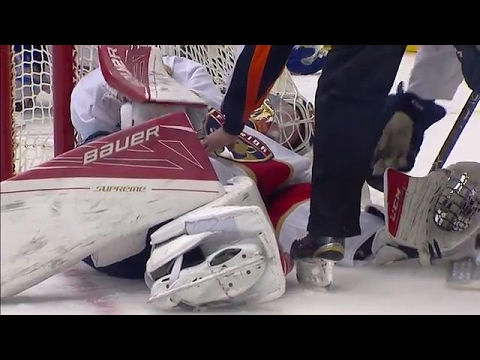 Video: Reimer forced to leave after collision with Boyle
