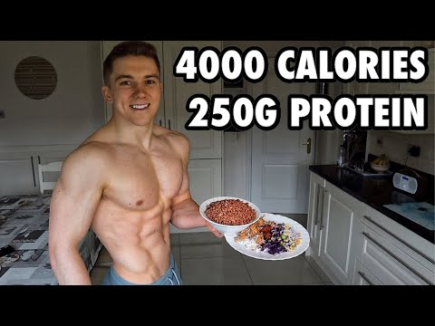Full Day of Eating 4000 Calories | Bulking Up for Skinny Guys...