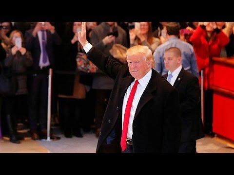 Ο Ντόναλντ Τραμπ αφήνει τον Πύργο Τραμπ για χάρη του Λευκού Οίκου