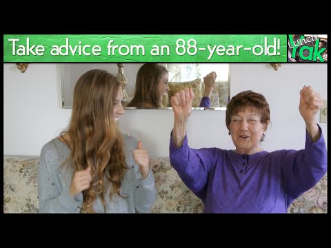 Live a Long, Healthy Life with Advice from an 88-Year-Old w/ Elizabeth (видео)