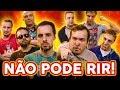 Download Video NÃO PODE RIR! - com COMEDIANTES (Léo Lins, Fábio Rabin, Gigante Leo e Estevam Nabote)