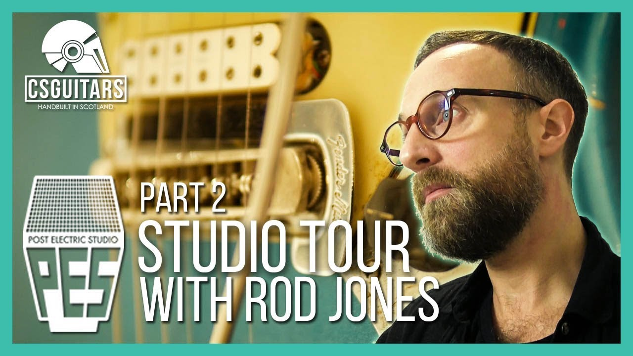 'Post Electric Studio' Tour Part 2 – Guitar and Amp Collection