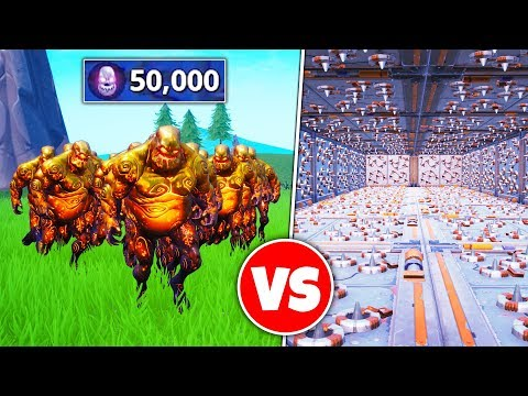 50000 ZOMBIES vs TRAPS (Breaking Creative)