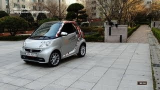 Smart ForTwo Passion Coupe 2013 Test Drive