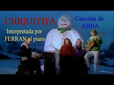 CHIQUITITA Canción de ABBA interpretada al piano por Ferran (Estudiante de piano de la tercera edad)