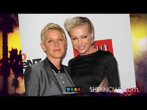 Are Ellen DeGeneres & Portia DeRossi Headed for a Split? - The Buzz