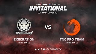 Execration против TNC Pro Team, Первая карта, SEA квалификация SL i-League Invitational S3